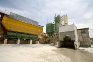 מפעל בטון זנוח - בית שמש