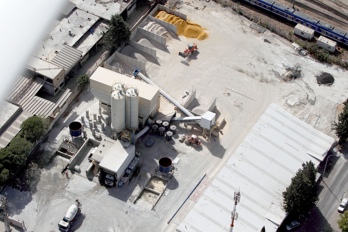 מפעל בטון חיפה