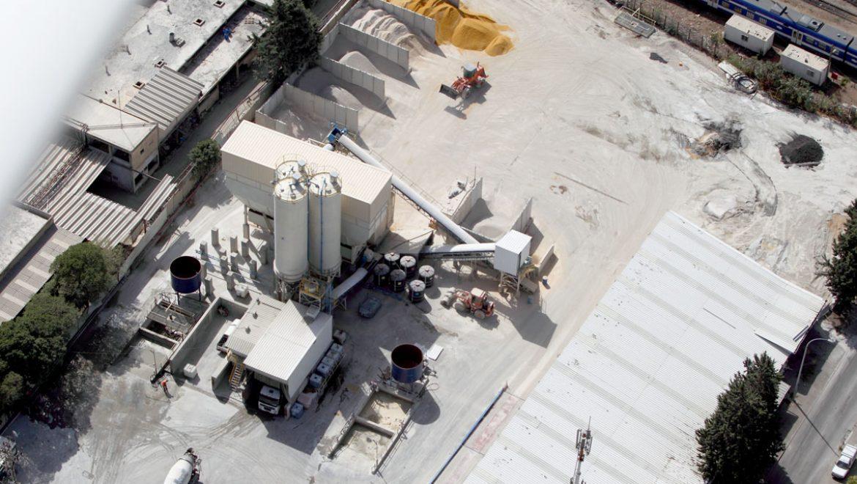 מפעל בטון עטרות – ירושלים צפון