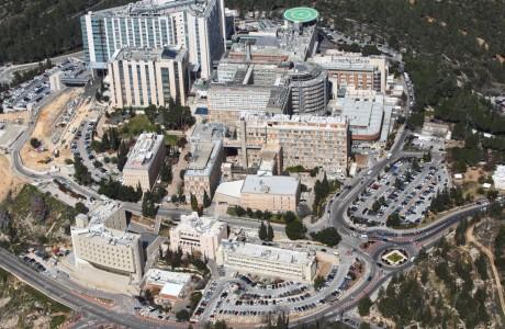 Hadassah Parking Lot