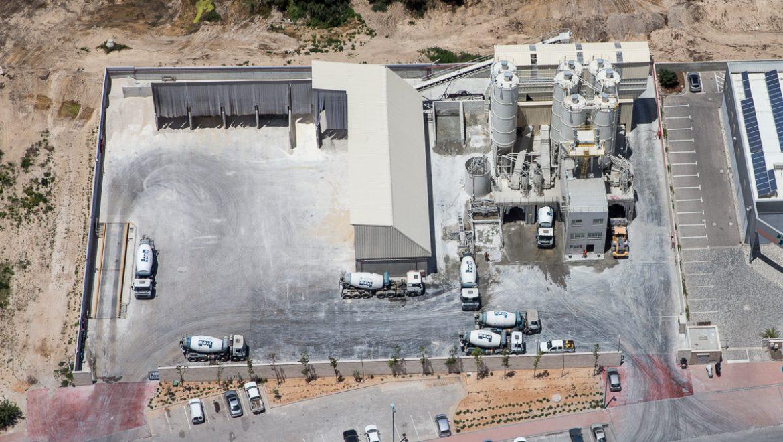 מפעל בטון עמק חפר